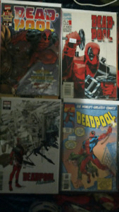 5 DEADPOOL #1 MARVEL COMIC BOOKS.