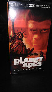 Plant of the Apes and Hogan's heroes VHS tapes