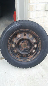 winter tires with rims London Ontario image 2