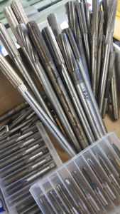 Most type of Reamers, Drill bits, taps
