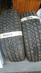 4 Studded Arctic Claw Winter Tires