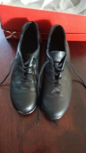 Ladies Black Leather Tap shoes for sale