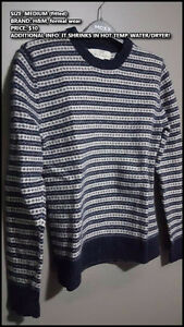 (CLOSET SALE #3) Men male clothing! Cardigans Sweater T Shirts