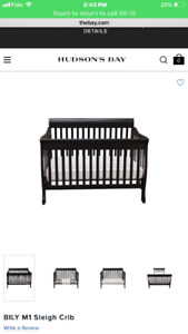 4 in 1 convertible crib and dresser/change table