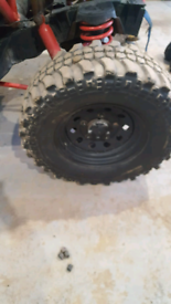16inch steels with insa turbo offroad