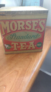 Morse's Tea Tin