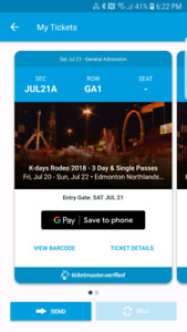 2 K Days Rodeo tickets