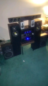 Surround sound with mirage loud speakers 890i