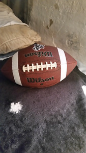 Wilson football. Never even been used.