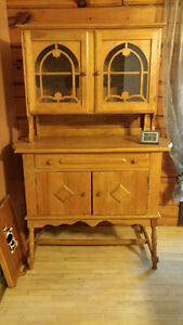 Antique Hutch- Solid wood