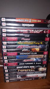 Lot of PS2 games.