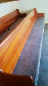 REDUCED 100.00 EA. Church Pew