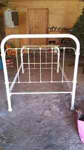 Beautiful antique iron bed frame