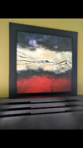 Wall art , picture frame, modern