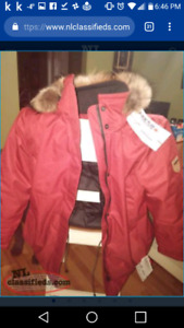Beautiful Canadian Made Ladies Quartz Parka
