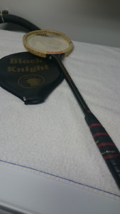Black Knight Squash Racquet and Jelinek Badminton Racquet