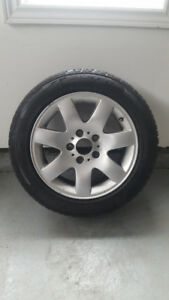 """16"""" All Season Radial Tires with Alloy Rims"""