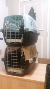 2 petmate travel carriers (small pet)