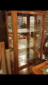 2 identical display cabinets Campbell River Comox Valley Area image 1