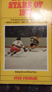 Hockey book on the players of early 70s