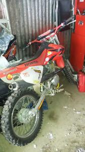 motocross CRF 100 2007 4 temp