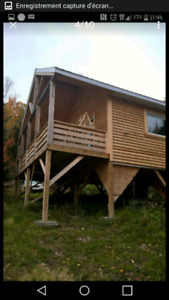 CHALET NEUF PAS CHER