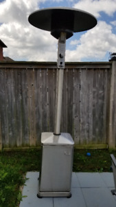 """DCS Stainless Steel 85"""" Free Standing Outdoor Gas Heater"""