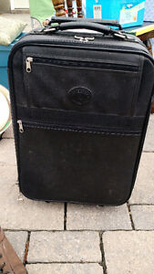 Small suitcase & toiletry bag