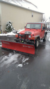 jeep plow kijiji in ontario buy sell save s 1 snow plowing reasonable rates 905 650 9168