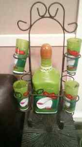 Cool Tequila Decanter With Shot Glasses Best offer