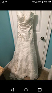 Kathy Evans Bridal studio dress. New with tags