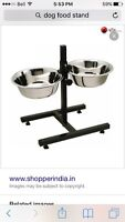 Looking for dog food stand
