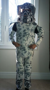 Storm Trooper costume approx size 5-7