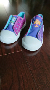 Brand new paw patrol girl shoes-size 11 US