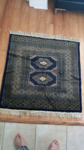 Vintage & rare Rug 39in x 36in, (Iran/Pakistan) .