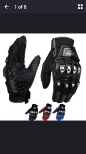 New Motorcycle Gloves Size Small