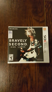 Bravely Second Nintendo 3DS DS Brand New