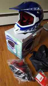 SOLD - SIGI Pro Junior motorcycle helmet - barly used