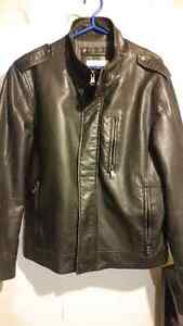 Calvin Klein fake leather jacket