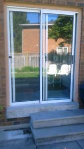 Patio door supply and install