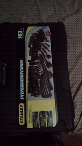 Stanley Professional Grade Black Chrome Socket set