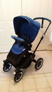 2014 Bugaboo Buffalo  Black on Black frame - excellent condition