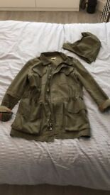JCrew Army Utility Parka Jacket
