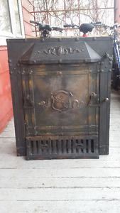 Antique Fireplace Insert