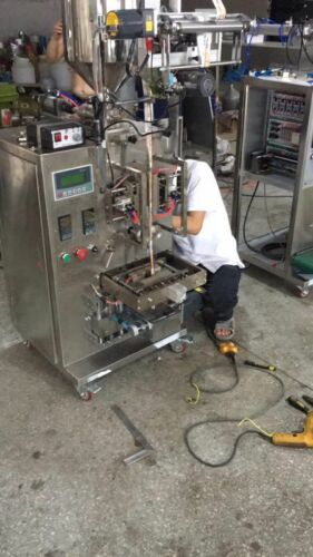 shampoo pouch machine/Vertical sachet cooking oil filling packing machine