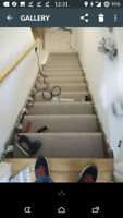 Carpet Stairs Installations