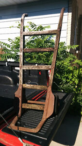 Vintage Nutting Hand Truck/Cart - Great for Gardens!