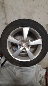 Mazda 16 inch Tires 205/55R16 with rims 5 bolt