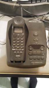 Telephone ans answering system uniden