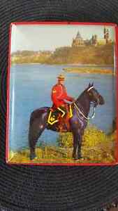 Royal Canadian Mounted Police Toffee Tin